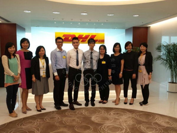 Sharing of Athlete Interns: Cycling to DHL Logistics Centre