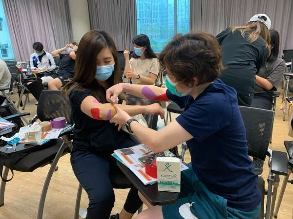 Life Skills Training - Sports Taping (Upper Body) Course